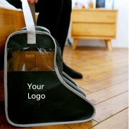 Promotional Non-woven Fabrics& PP Boots Bag with DIY LOGO