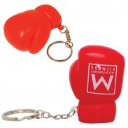 Boxing Glove Squeezie Keyring