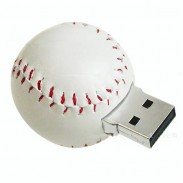 4GB Slicone USB Flash Drives-- Baseball