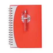 Customized Spiral Notebook With Shorty Pen