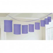 Promotional Beautiful Multicolor Lantern Garland with DIY LOGO