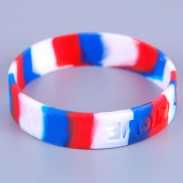 1/2 Inch Colored Rubber Wrist