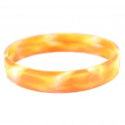 1/2 Inch Amber style Silicone Bands