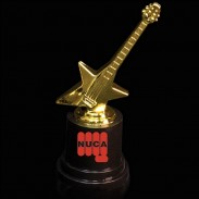 Plastic Guitar Trophy