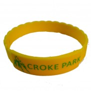 1/2 Inch 1 color Printing Silicone Wristbands