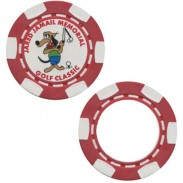 Promotional Office & Party Paster Poker Chip-Two Side Customized Printing