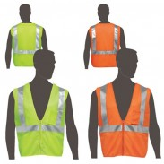 Safety Works Lime Green Safety Vest