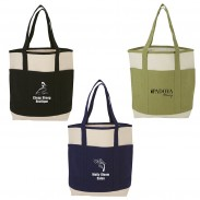 Convenient Natural Canvas Tote Bag