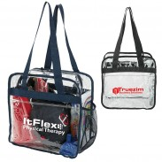 Customized Durable PVC Clear Stadium Tote