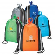 Drawstring Backpack With Carry Handles