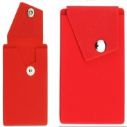 Durable Promo Silicone Phone Pocket With Stand