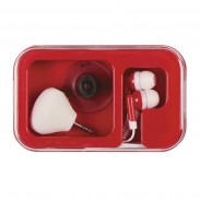 Ear Buds and Ear Bud Splitter/Phone Stand