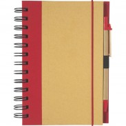 Eco-friendly Spiral Notebook and Pen