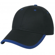 Embroidered Price Buster Structured Visor Trim With Custom Cap