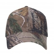 Fabric strap with T-slider Headwear  Camo Unstructured Cap