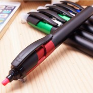 Promotional Multi-function Fluorescent Touch Screen Pen with DIY LOGO