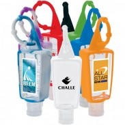 Hand Sanitizer With Silicone Holder (1 Oz.)