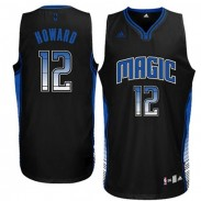 Howard Orlando Magic Youth Vibe Swingman Jersey - Black