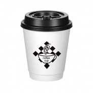 Insulated Paper Travel Cup - 12 oz. - Low Qty