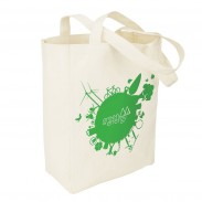 Customized 10oz Cotton Canvas Shopping Bag