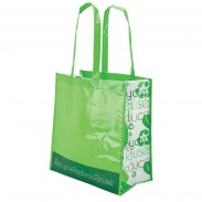 Reusable And Recyclable Laminated Tote Bag