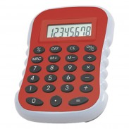 Large Desktop Calculator With Oversized Digits And Rubber Bottom