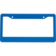 Customized Double Hole License Plate Frame Extralarge with LOGO