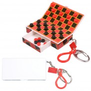 Magnetic Travel Checkers Key Chain