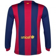14-15 new season club soccer jersey Barcelona-Long Sleeve