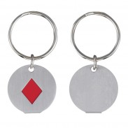Metal Diamond Key Chain