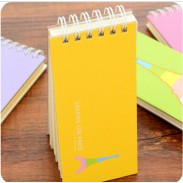 Mini Creative Stripes Page Notebook