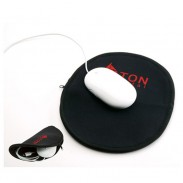Customized Multifunction Fold Mouse Pad with Zipper