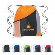 Multifunctional Tri-Color Drawstring Sportpack