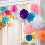 Promos Paper Hanging Decoration