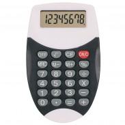 Office Desck Digit Display Oval Calculator