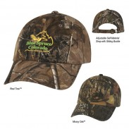 Poly/Cotton Blend Hunter's Hideaway Camouflage Cap