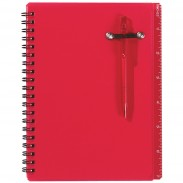 Customized PP Spiral Notebook & Pen