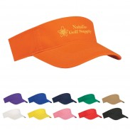 Promotional  Purple Pre-Curved Visor Budget Saver Non -Woven Sports Caps