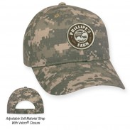 Customized  Pre-Curved Visor Digital Camouflage Outdoor Cotton Cap