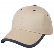 Promotional  White Price Buster Cotton Twill  Sports  Cap with Visor
