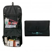 Promo Microfiber Construction Hanging Toiletry Bag