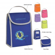 Promo Non-Woven Folding Identification Lunch Bag