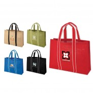 Promo Sustainable Jute Fabric Shopping Bag