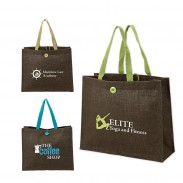Promo Sustainable Natural Jute Tote Bag