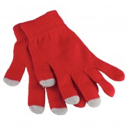 Promotional Acrylic Purple Custom Touch Screen Gloves