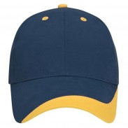 Promotional Cotton twill Headwear  Spirit Wave Navy Cap