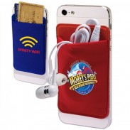 Lycra Promotional Cell Phone Wallet