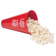 Megaphone and Popcorn Holder