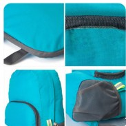 Promotional Nylon Foldable Cheap Waterproof Backpack