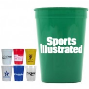 Smooth Stadium Cups (16 Oz.)